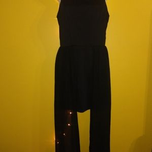 Gorgeous goth witchy evening sheer minidress MED